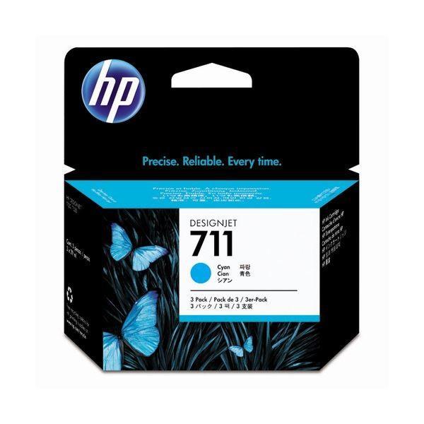 <title>HP711 インクカートリッジ シアン 29ml 永遠の定番モデル 個 染料系 CZ134A 1箱 3個 ×3</title>