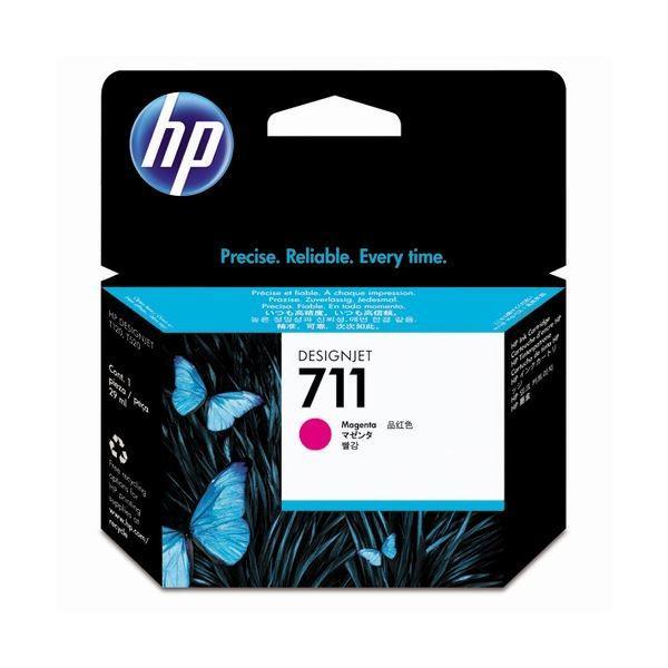 低廉 HP711 インクカートリッジ マゼンタ 29ml ×3 染料系 お歳暮 1個 CZ131A