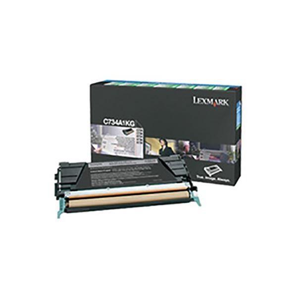純正品 LEXMARK オンライン限定商品 トナーカートリッジ C734A1KG ブラック BK RPトナー [並行輸入品] 8K