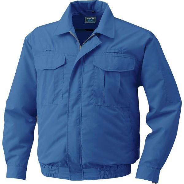 綿薄手フルハーネス仕様 空調服 作業着 ファンカラー:グレー 予約 カラー:ダークブルー KU9055F LIPRO2 流行のアイテム 5L リチウムバッテリー