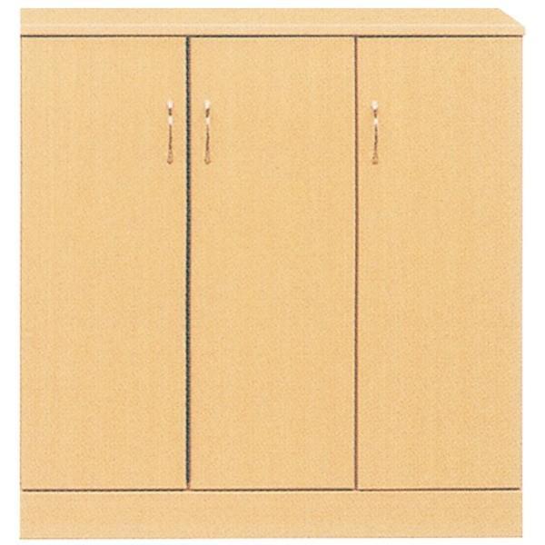 ローシューズボックス 百貨店 下駄箱 幅90cm×奥行38cm×高さ92cm 日本製 ナチュラル 完成品 PLAZA2 収納家具 玄関渡し 無料 プラザ2