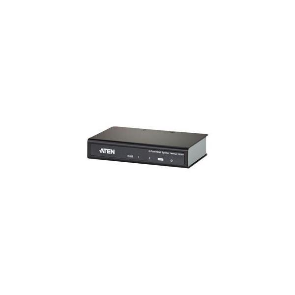 ATEN 1入力 2出力 VS182A HDMIビデオスプリッター お求めやすく価格改定 爆買いセール