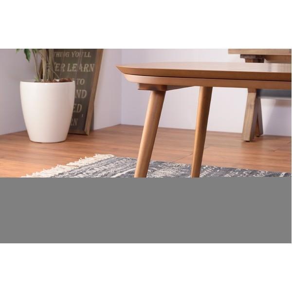 こたつテーブル   木目調こたつテーブルローテーブル 本体 (幅90cm×奥行60cm) 木製