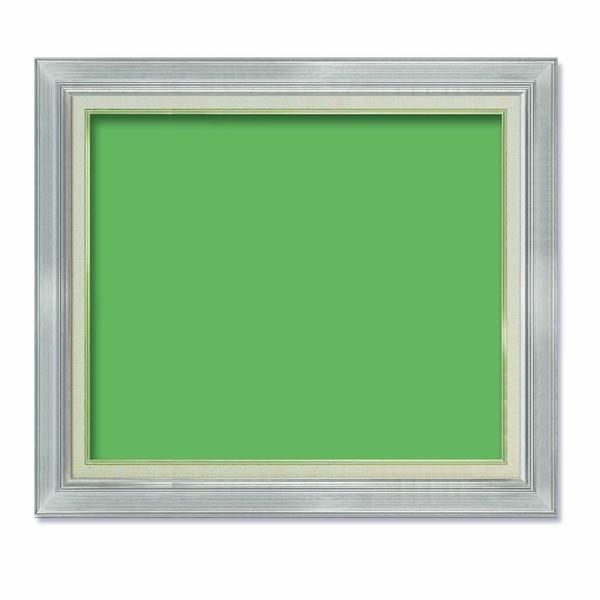 油額 油絵額 キャンバス額 金の油絵額 銀の油絵額 シルバー 舗 652×500mm 絵画 世界の人気ブランド P15号