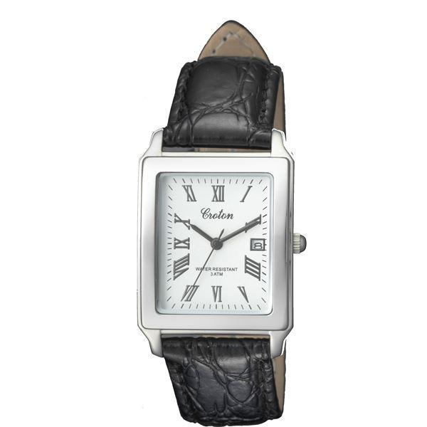 腕時計パーツ | CROTON(クロトン) 腕時計 3針 デイト 日本製 RT158MCA