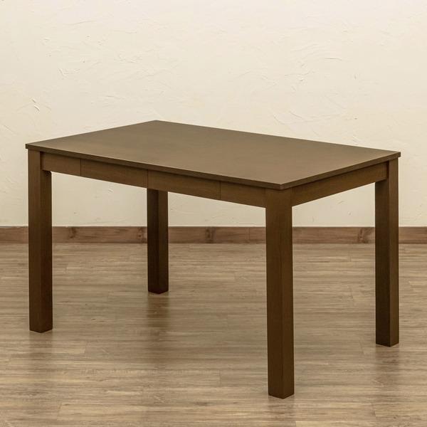 フリーテーブル 爆安 センターテーブル 110cm×70cm ブラウン 引き出し2杯付 木製脚付き リビング アジャスター 代引き不可 テーブル ダイニング