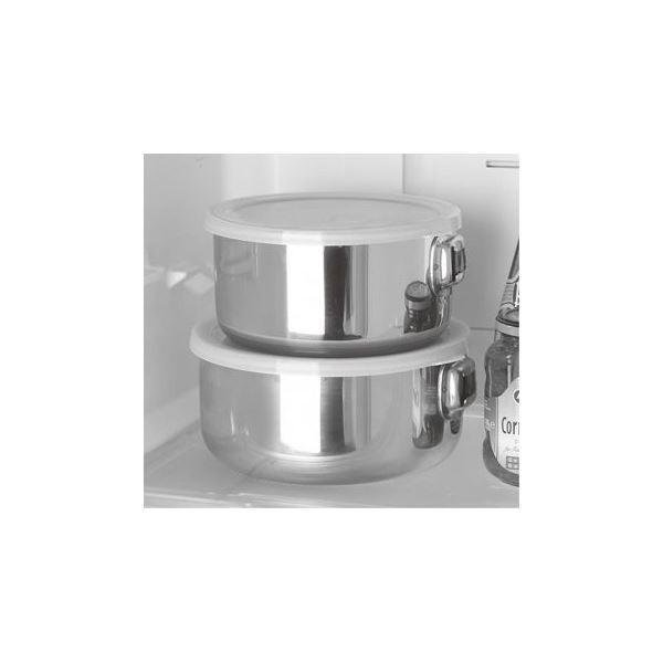 スタッキング 鍋セット (2点セット) 日本製 着脱取手 ステンレス IH ガスコンロ可 『エクセレントシェフ ワンタッチクッカー』|aks|04