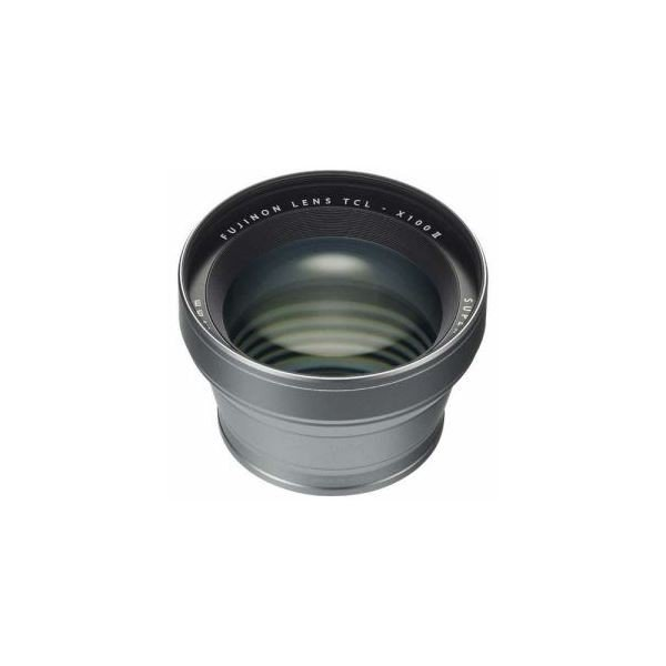 カメラ用三脚 | 富士フイルム TCLX100S2 テレコンバージョンレンズ(シルバー)