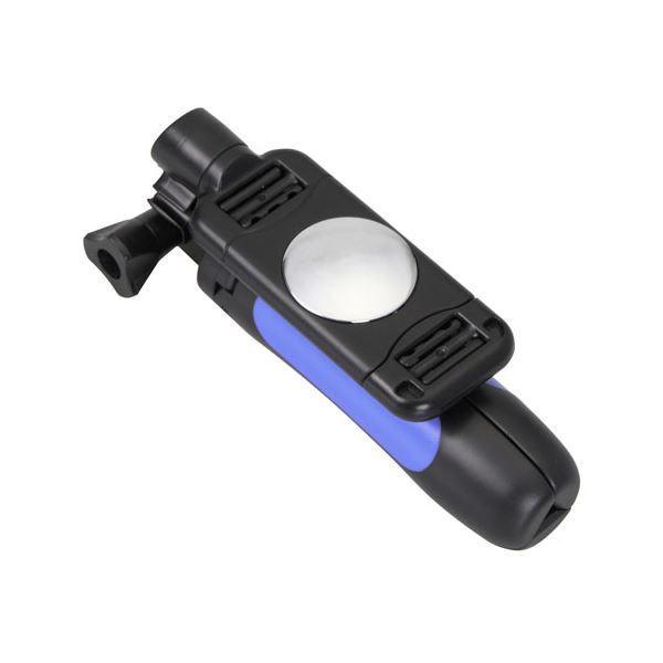 カメラ用三脚 | (まとめ) エツミ マイクログリップポッド3 ブルー VE2168 (×2)