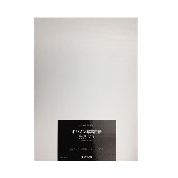 キヤノン 写真用紙 光沢プロ プラチナグレード 最新号掲載アイテム 300g PT201A220 8666B020 A2 1冊 プリンター 流行のアイテム 20枚