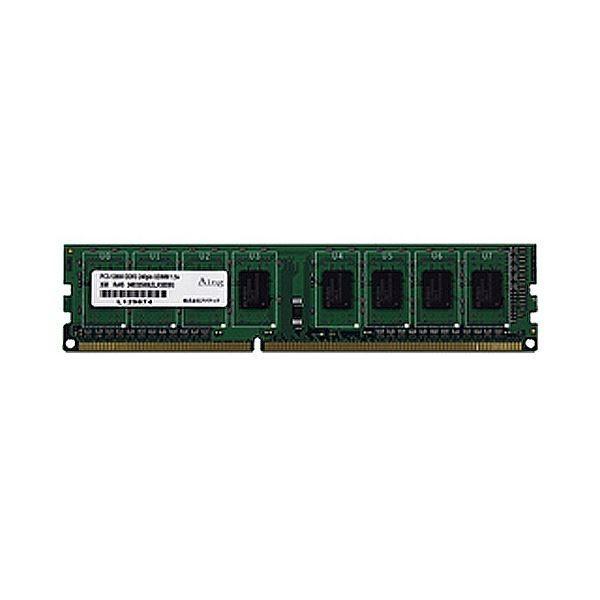 アドテック DDR3 1066MHzPC38500 240pin Unbuffered 全品最安値に挑戦 2GB ADS8500D2G 1枚 ×3 DIMM 新品