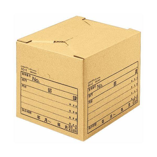 <title>ライオン事務器 ストックケース B4用内寸W435×D330×H300mm SC1 1 10個 ×3 ファイルボックス ファッション通販</title>