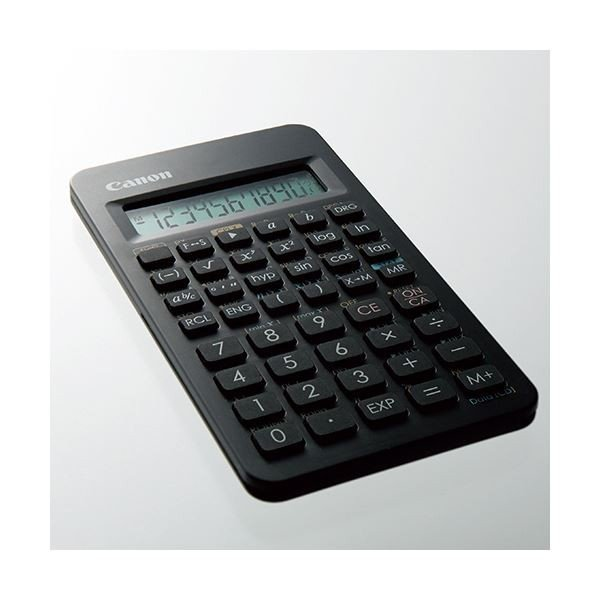 キヤノン 関数電卓 F605G仮数10桁、指数2桁 関数機能(154種類)、ハードカバー付 0891C003 1(10台)(×3) aks 03