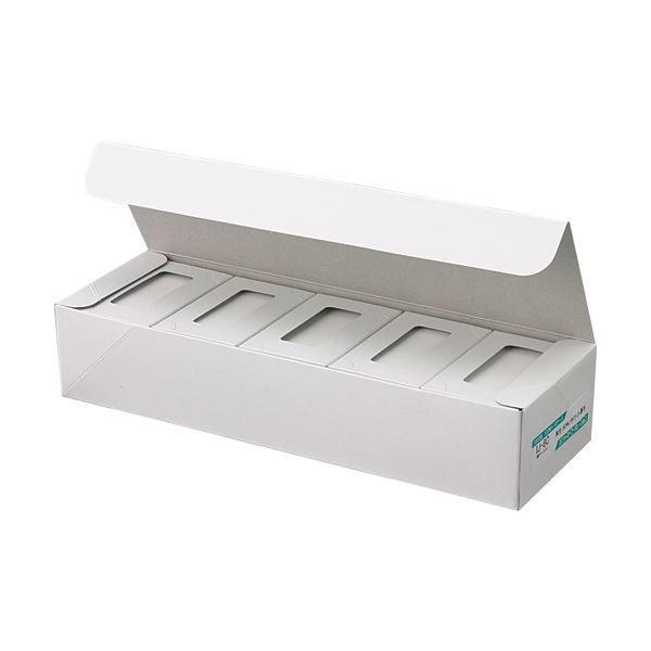 ジャストコーポレーション カラーIJ専用名刺用紙 業界No.1 購入 ホワイト IJ5C 1 1000枚:100枚×10箱 名刺 ×5