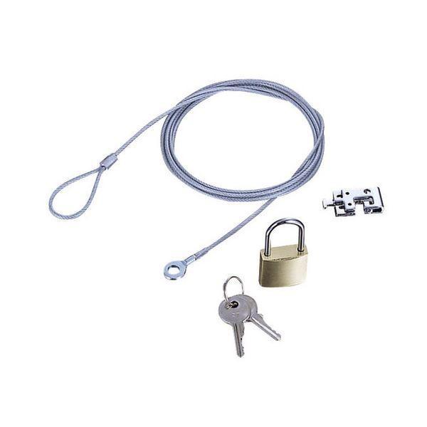 エレコム 購買 ノートPC マウス用セキュリティワイヤーロック ESL3R 1パック セキュリティ 数量は多 ×10