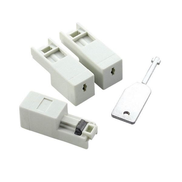 全品最安値に挑戦 エレコム LANポート鍵付きプロテクタ 本体3個 鍵1個 ×10 HUB03 LDLOCK ※アウトレット品 1