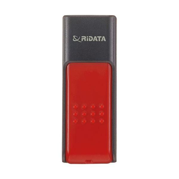 <title>RiDATA ラベル付USBメモリー32GB ブラック レッド 送料無料カード決済可能 RDAID50U032GBK RD 1個 ×10</title>