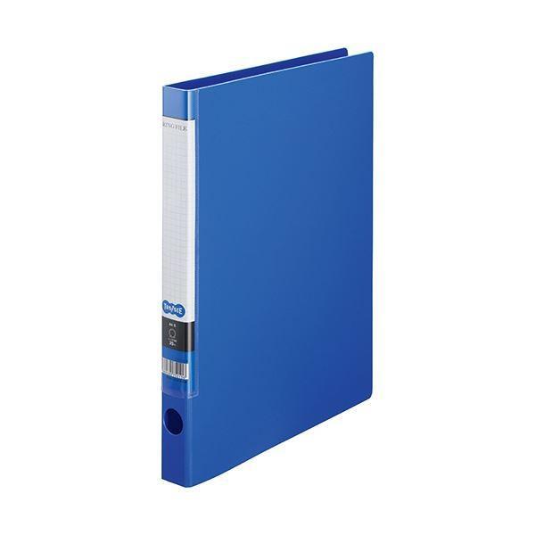 <title>TANOSEE OリングファイルA4タテ 2穴 150枚収容 背幅32mm ブルー 1 10冊 ×10 早割クーポン</title>