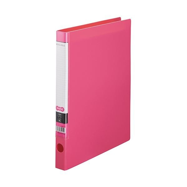 <title>TANOSEE OリングファイルA4タテ 2穴 150枚収容 背幅32mm ピンク 1 10冊 永遠の定番モデル ×10</title>