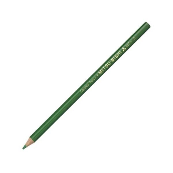 <title>送料無料でお届けします 三菱鉛筆 色鉛筆880級 みどりK880.6 1ダース ×30</title>