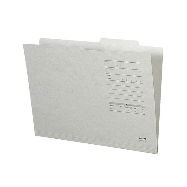コクヨ 人気ブレゼント! A4ジャスフォルダー Eタイプ 灰 A4IFEM 10冊 1 ファイルボックス 通販 ×30