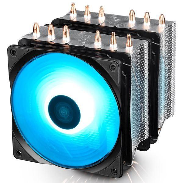 期間限定で特別価格 NEPTWIN RGB RGBLED対応デュアルファン搭載ハイエンドCPU対応の空冷CPUクーラー 春の新作続々