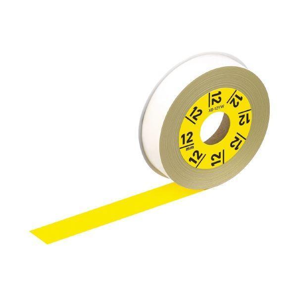 <title>カシオ計算機 ラテコ専用テープXB12YW黄に黒文字 ×30 永遠の定番モデル</title>