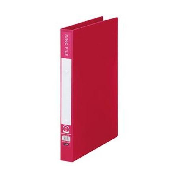 セール特別価格 TANOSEE リングファイル 再生PP表紙 ハイクオリティ A4タテ 2穴 ×50 200枚収容 背幅30mm 1冊 バーガンディ