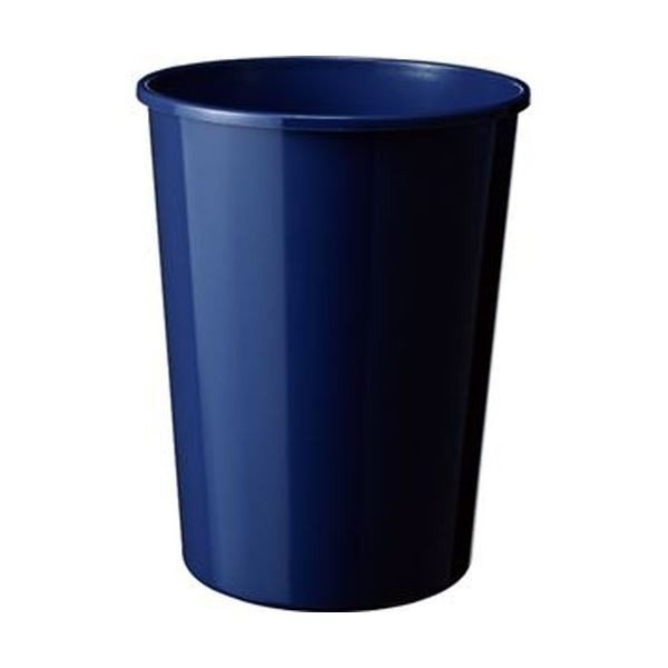 TANOSEE 大幅にプライスダウン エコダストボックス 丸型M 14.1L ダークブルー 全品送料無料 5個 ×10 1 ゴミ箱