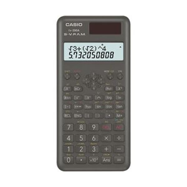カシオ 売り込み 買い物 関数電卓 10桁2行ハードケース付 FX290AN ×5 1台 電卓