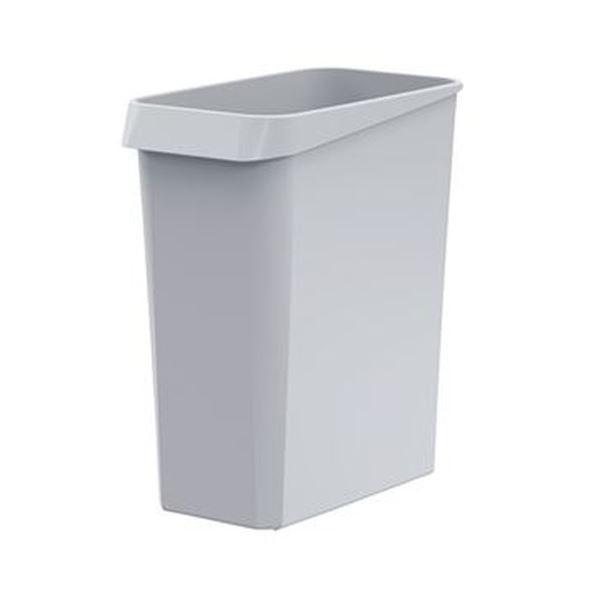 登場大人気アイテム ダストボックス 角型 グレー 1 10個 毎日続々入荷 ×3 ゴミ箱