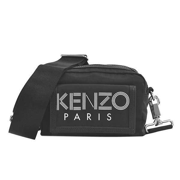 <title>KENZO ケンゾー 人気ブレゼント! ナナメガケバッグ F955SF218F24 99 BLACK ショルダーバッグ</title>