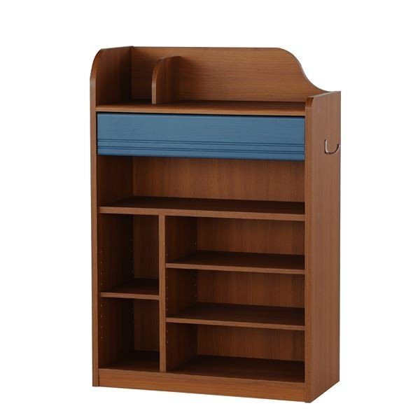 セール商品 ランドセルラック 浅型タイプ ランドキッズ ダークブラウン 子供用家具 LAK9565HDK 上質