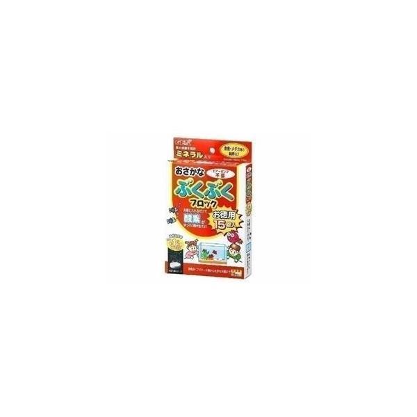 水槽 | GEX(ジェックス) おさかなぶくぶくブロックお徳用15錠 (水槽用酸素剤) (ペット用品)|aks