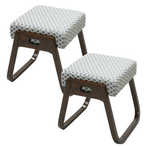 木製スタッキングスツール 座 楽椅子 2脚組 高さ40cm 洋室 ギフ_包装 仏事 永遠の定番 来客用 和室 椅子