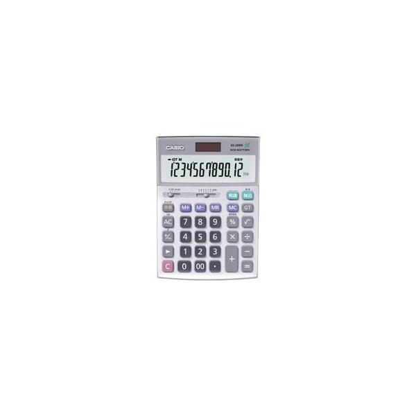 毎日がバーゲンセール カシオ CASIO 本格実務電卓 12桁 DS20WK 電卓 気質アップ デスクタイプ 1台
