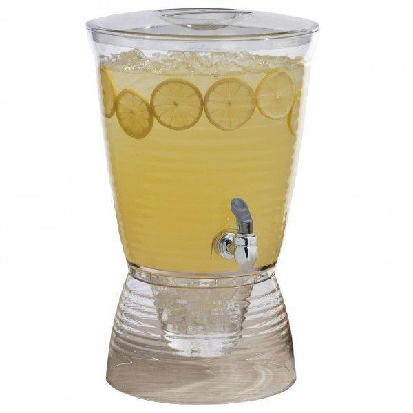 飲料水サーバー ビバレッジディスペンサー ドリンクディスペンサー クリエイティブウェア 9.4L CreativeWare 2.5-Gallon Bark Beverage Dispenser