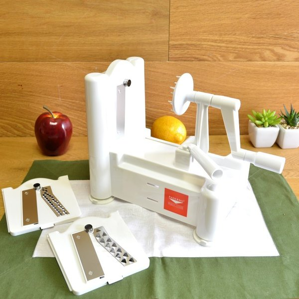 Yahoo paderno - Paderno world cuisine spiral vegetable slicer ...