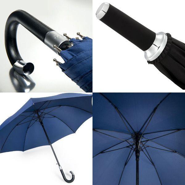ダベック エリート アンブレラ 高級雨傘 生涯保証付 ブラック黒 アンブレラ Davek New York