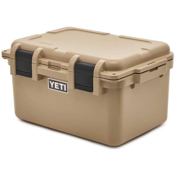 イエティ ロードアウト ゴーボックス カーゴボックス アウトドア キャンプ フタ付き コンテナボックス タン YETI LoadOut GoBox Divided Cargo Case Tan