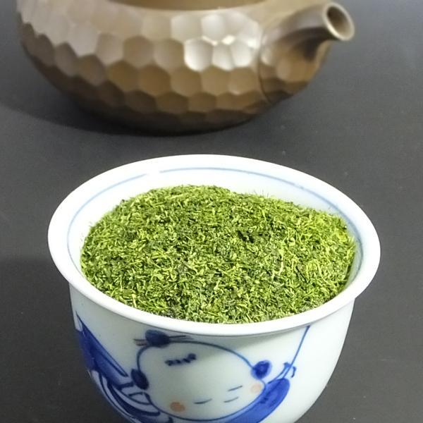 茶 三重県産 粉茶 茶 新茶 【上粉茶 1kg】 新茶限定 お茶 急須を使って淹れる粉茶|akutsu-chaho|03