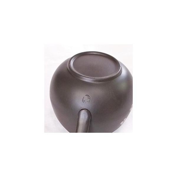 プレミアム会員 茶器 和食器 食器 湯冷まし 日本製 中 茶道具 黒泥桜 常滑焼 現品湯冷まし|akutsu-chaho|06