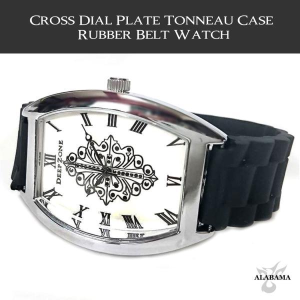 Deep Zone ラバーベルト腕時計
