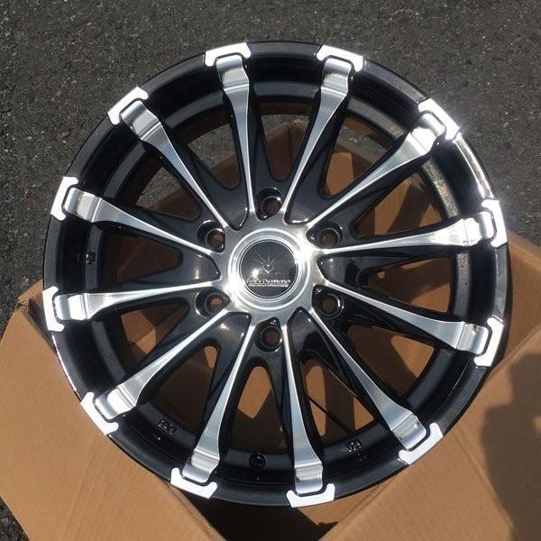 200系ハイエース 18インチタイヤホイールセット BlackDiamond BD12 18x7.5J +38 139.7 6H 特選タイヤ!! 225/50R18|aladdin-wheels|03