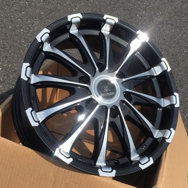 200系ハイエース 18インチタイヤホイールセット BlackDiamond BD12 18x7.5J +38 139.7 6H 特選タイヤ!! 225/50R18|aladdin-wheels|04