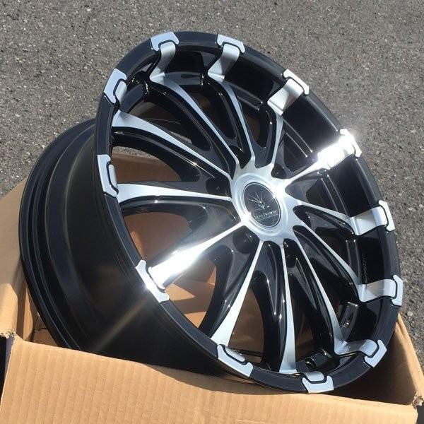 200系ハイエース 18インチタイヤホイールセット BlackDiamond BD12 18x7.5J +38 139.7 6H 特選タイヤ!! 225/50R18|aladdin-wheels|05