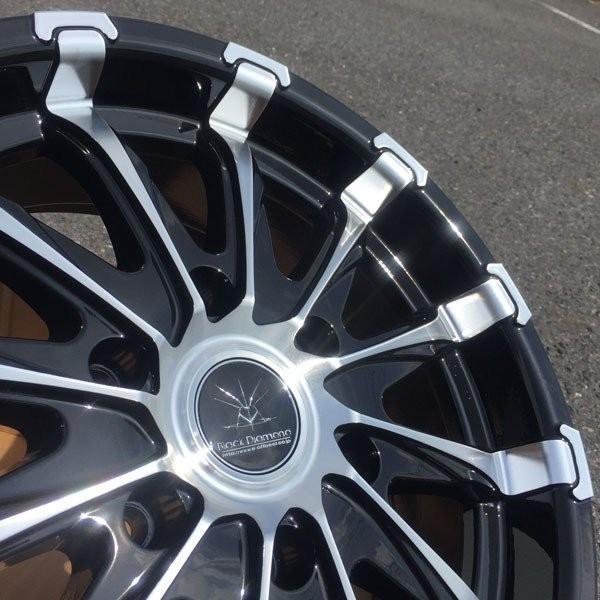 200系ハイエース 18インチタイヤホイールセット BlackDiamond BD12 18x7.5J +38 139.7 6H 特選タイヤ!! 225/50R18|aladdin-wheels|06