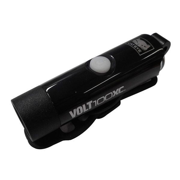 全国送料無料 サギサカ CAT EYE キャットアイ VOLT100XC 100ルーメン USBプラグ付LEDライト フロント用 ブラック HL-EL051RC|aladdinweb