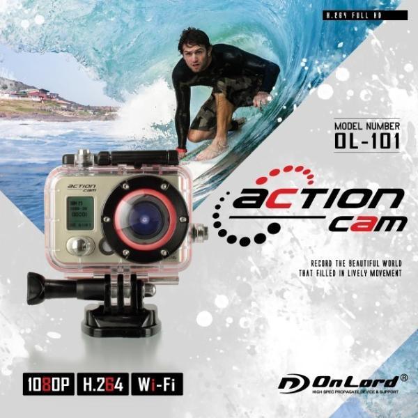 GoPro(ゴープロ)クラス ウェアラブルカメラ アクションカム (OL-101)  60m防水 WiFi機能|alba