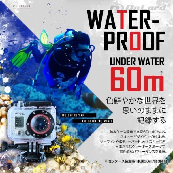 GoPro(ゴープロ)クラス ウェアラブルカメラ アクションカム (OL-101)  60m防水 WiFi機能|alba|03